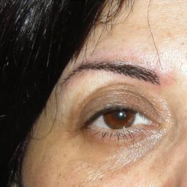 DESPUES - Dermopigmentacion o Micropigmentacion de cejas natural (pelo a pelo )
